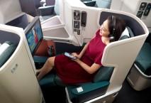 Passagiere von Cathay Pacific können sich auf schnelles W-Lan an Bord freuen. Foto: Cathay Pacific