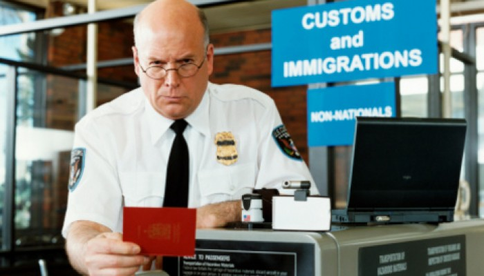 Passkontrolle USA