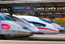 Bahnreisende in Frankreich müssen sich bis Ende Juni auf Streiks einstellen. Foto: Alleo