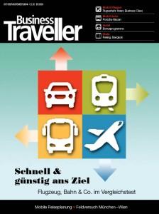 Titel der BUSINESS TRAVELLER Ausgabe 5/2014