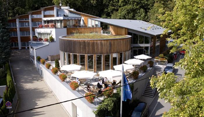Außenansicht Hotel Forsthaus Grüna