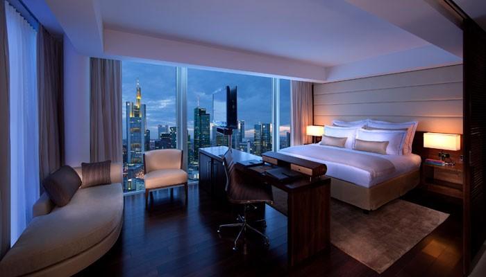 Zimmer Hotel Jumeirah Frankfurt