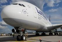 Fünf von 14 A380 stationiert Lufthansa in München. Foto: Lufthansa