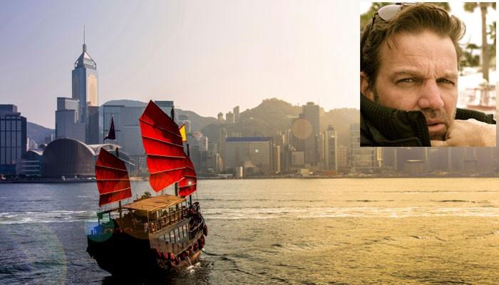 Hongkong Skyline, Porträt Kai Böcking