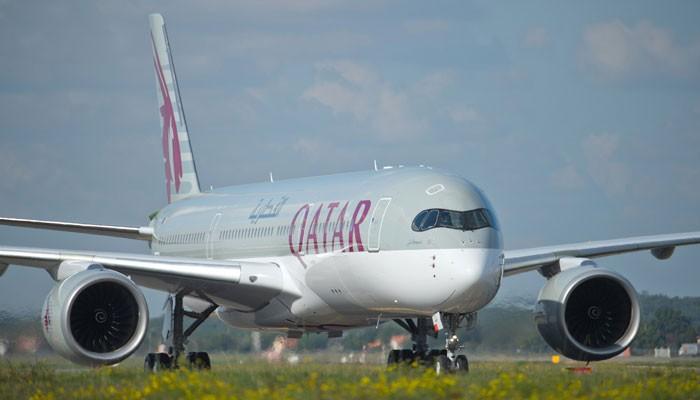 A350 XWB von Qatar Airways auf der Rollbahn