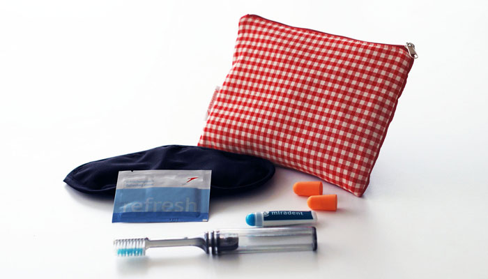 Amenity Kit von Austrian Airlines