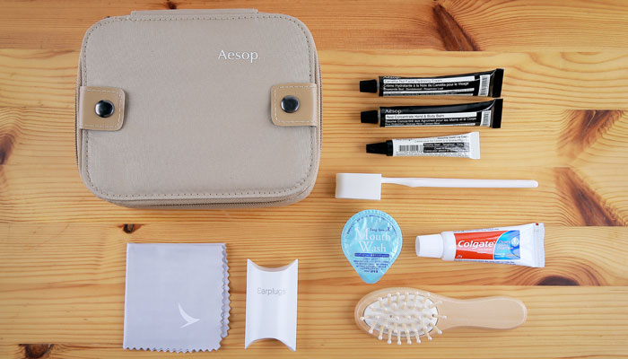Amenity Kit von Cathay Pacific