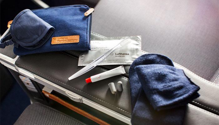 Amenity Kits Gepflegt Fliegen Business Traveller