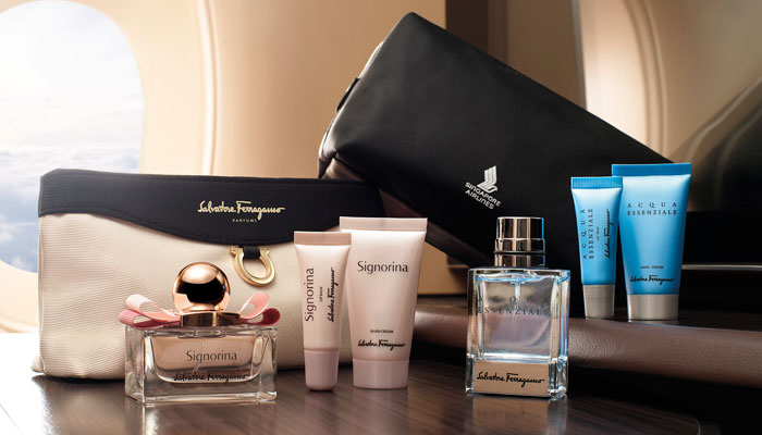Amenity Kit von Singapore Airlines