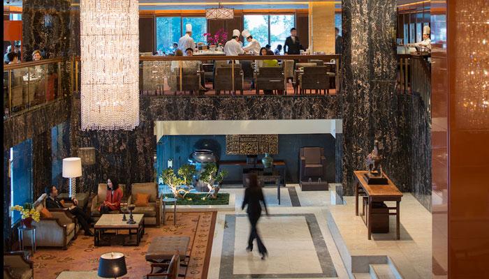 Clipper Lounge Mandarin Oriental Hongkong