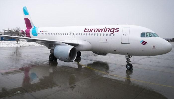 D-AIZQ-01 Eurowings-Maschine