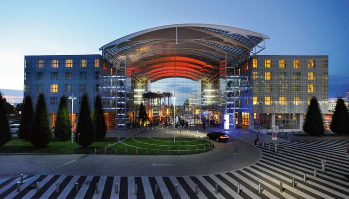 Lobby Hilton Munich Airport