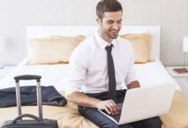 Geschäftsreisende wünschen sich gut ausgestattete Hotelzimmer. Foto: Thinkstock