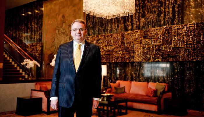 General Manager Jonas Schuermann