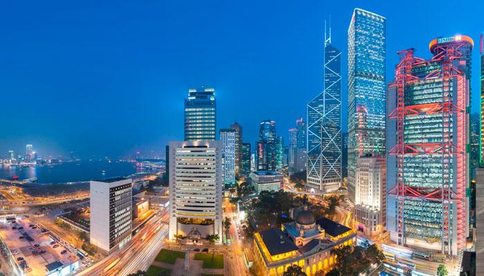 Aussicht Mandarin Oriental Hong Kong