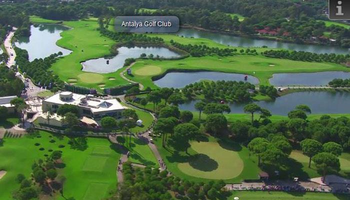 Antalya Golf Club, Türkische Riviera