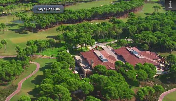 Carya Golf Club Türkische Riviera