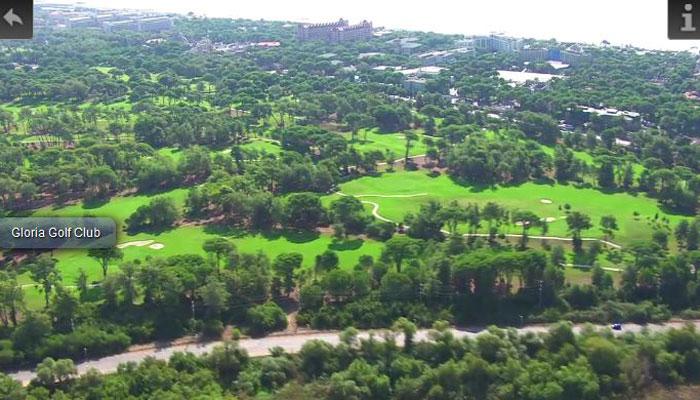 Gloria Golf Club, Türkische Riviera