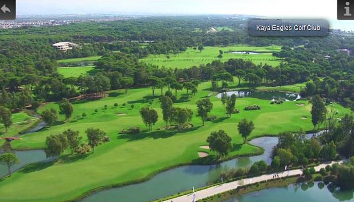 Kaya Eagles Golf Club, Türkische Riviera