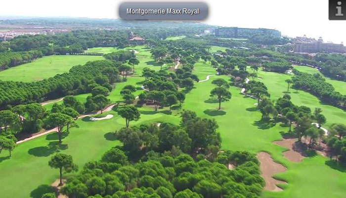 Montgomerie Maxx Royal Golf Club, Türkische Riviera