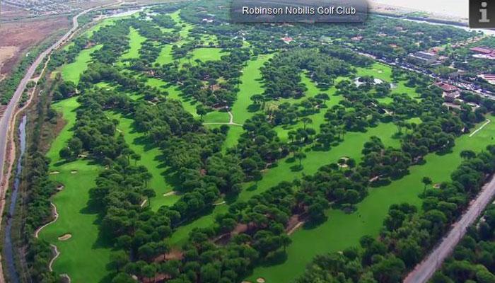 Robinson Nobilis Golf Club, Türkische Riviera