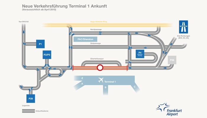 Flughafen Frankfurt Hahn Ankunft