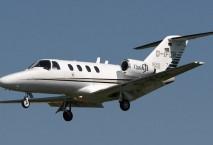 Cessna Citation in der Luft