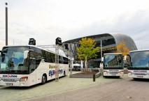 Eurolines Business Class Bus am ZOB München