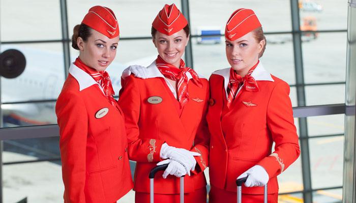 Flugbegleiterinnen Aeroflot