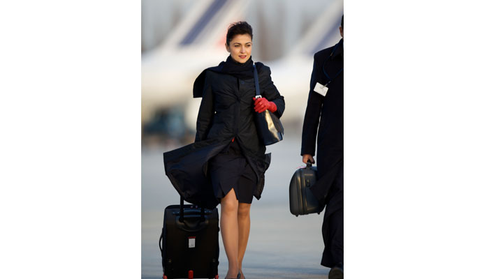 Flugbegleiterin der Air France
