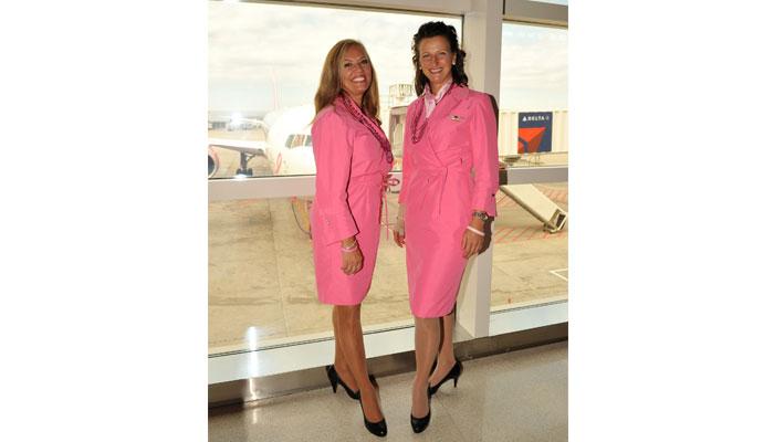 Flugbegleiterinnen Delta Air Lines