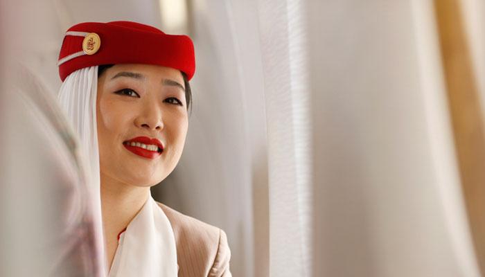 Flugbegleiterin Emirates