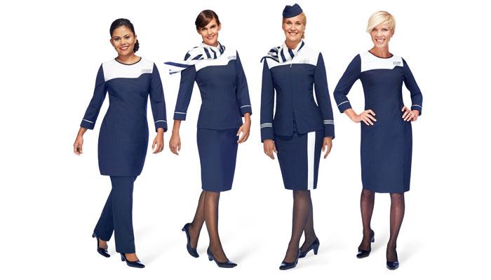 Flugbegleiterinnen Finnair