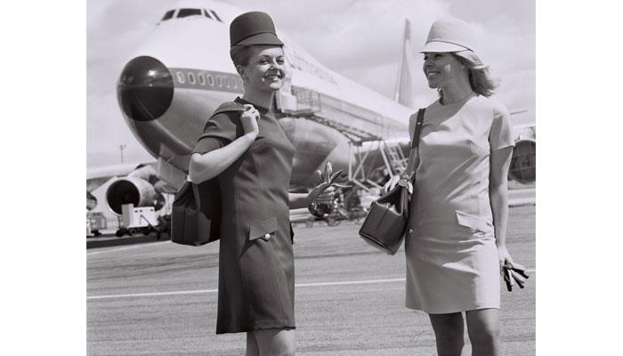 Flugbegleiterinnen Lufthansa