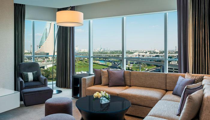 Neue adresse f r gesch ftsreisende das sheraton grand for Neues design hotel dubai