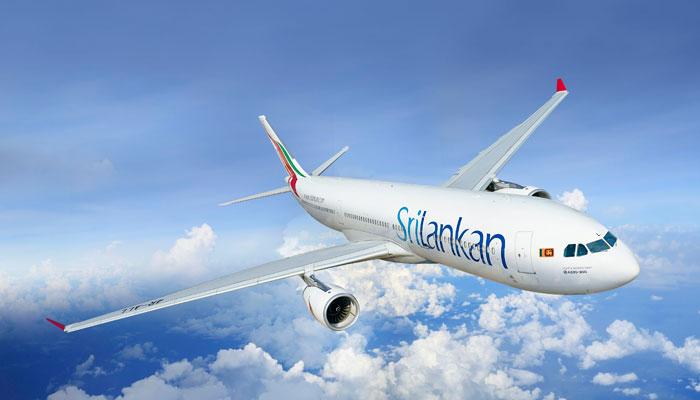 Maschine der Sri Lankan Airlines