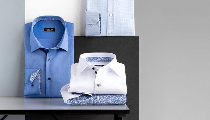 Gefaltete Hemden; Foto: Eterna
