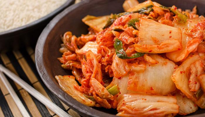 Kimchi-Gericht