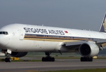 Singapore Airlines Boeing 777-300 ER
