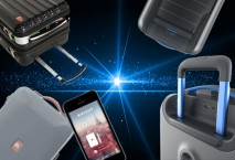 Smarte Koffer im Weltall