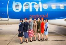 Flugbegleiterinnen der bmi regional