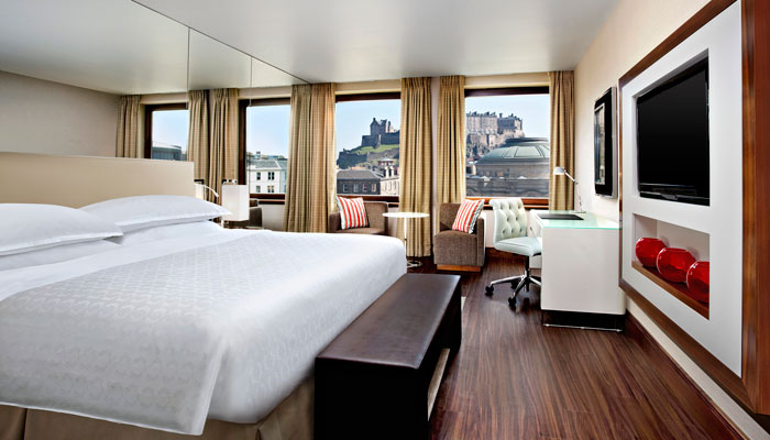 Zimmer im Sheraton Grand Edinburgh Castle