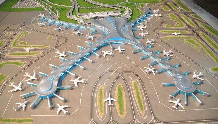 Neuer Flughafen Abu Dhabi