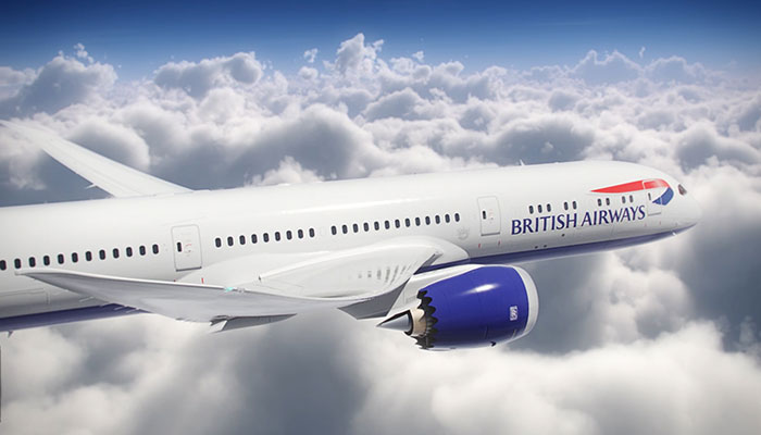 Dreamliner British Airways