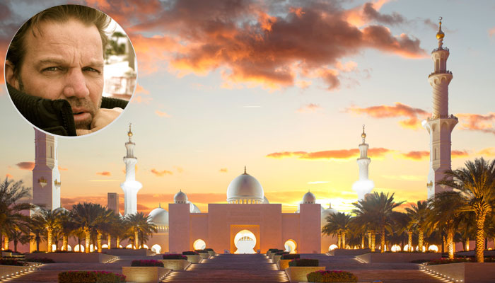 Sheikh Saeed Moschee, Porträt Kai Böcking