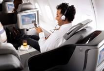 Business Class Lufthansa Langstrecke
