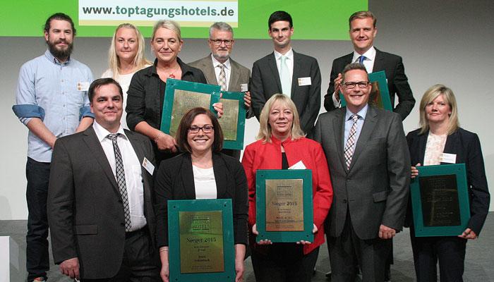 Sieger Top-Tagungshotels 2015