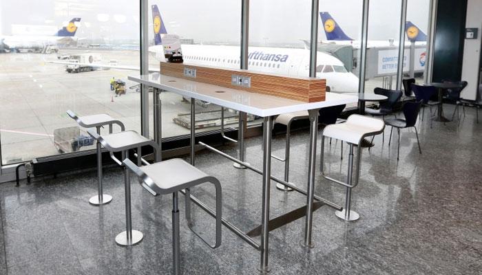 """""""Workbenches"""" am Flughafen Frankfurt"""