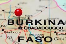 Landkarte Burkina Faso