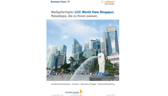"""LCC World View"", Ausgabe Singapur"